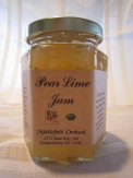 Pear Lime Jams